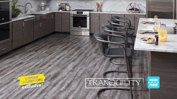 Lumber Liquidators Waterproof Flooring TV Spot, 'Worry Proof Floors!' - Thumbnail 5