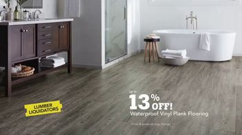 Lumber Liquidators Waterproof Flooring TV Spot, 'Worry Proof Floors!' - Thumbnail 9