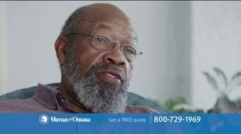 Mutual of Omaha Guaranteed Whole Life Insurance Policy TV Spot, 'Final Expenses' - Thumbnail 10