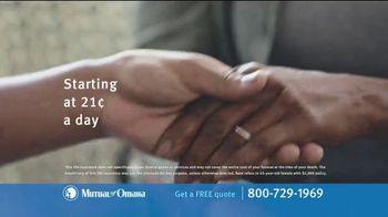 Mutual of Omaha Guaranteed Whole Life Insurance Policy TV Spot, 'Final Expenses' - Thumbnail 6