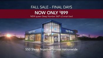 Sleep Number Fall Sale TV Spot, '360 c2 Smart Bed' - Thumbnail 8