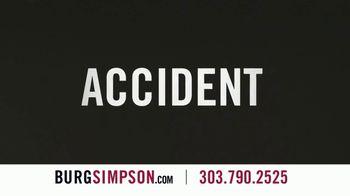 Burg Simpson TV Spot, 'Careless Driver' - Thumbnail 1