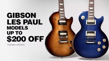 Guitar Center Guitar-A-Thon TV Spot, 'Gibson Les Paul Models' Featuring Gary Clark Jr.