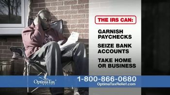 Optima Tax Relief TV Spot, 'Louie'