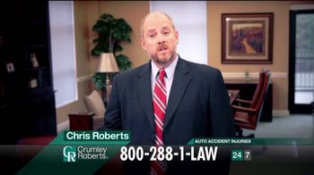 Crumley Roberts TV Spot, 'It's What We Do' - Thumbnail 1