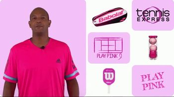 Tennis Express TV Spot, 'Pink Products for Breast Cancer'