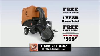DR Power Equipment Leaf and Lawn Vacuum TV Spot, 'Powerful' - Thumbnail 9