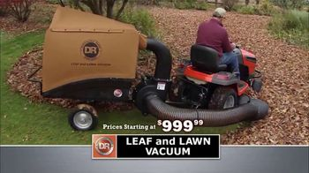DR Power Equipment Leaf and Lawn Vacuum TV Spot, 'Powerful' - Thumbnail 1