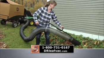 DR Power Equipment Leaf and Lawn Vacuum TV Spot, 'Powerful'