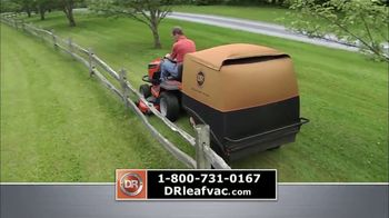DR Power Equipment Leaf and Lawn Vacuum TV Spot, 'Powerful' - Thumbnail 3