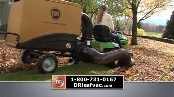 DR Power Equipment Leaf and Lawn Vacuum TV Spot, 'Powerful' - Thumbnail 4