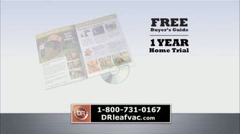 DR Power Equipment Leaf and Lawn Vacuum TV Spot, 'Powerful' - Thumbnail 8
