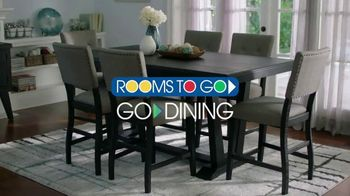Rooms to Go TV Spot, 'New Dining Set' - Thumbnail 2