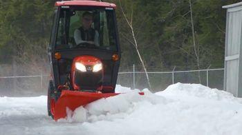 Kubota BX Series Tractors TV Spot, 'Snow Removal'