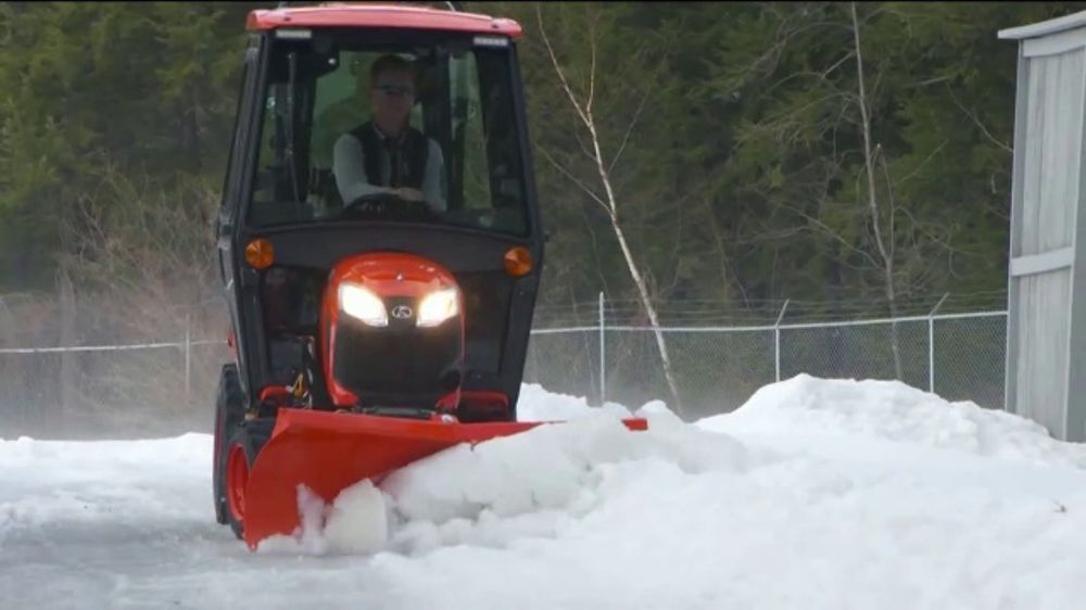 Kubota BX Series Tractors TV Commercial, 'Snow Removal'