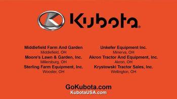Kubota BX Series Tractors TV Spot, 'Snow Removal' - Thumbnail 8