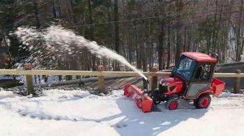 Kubota BX Series Tractors TV Spot, 'Snow Removal' - Thumbnail 2