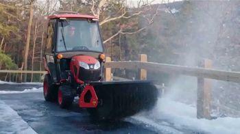 Kubota BX Series Tractors TV Spot, 'Snow Removal' - Thumbnail 3