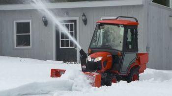 Kubota BX Series Tractors TV Spot, 'Snow Removal' - Thumbnail 5