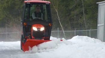 Kubota BX Series Tractors TV Spot, 'Snow Removal'