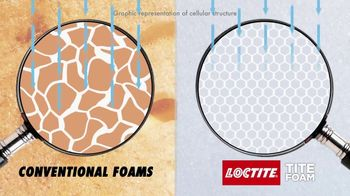Loctite Tite Foam TV Spot, 'More Insulation and Durability' - Thumbnail 8