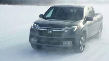 Honda Ridgeline TV Spot, 'Uphill' [T1]