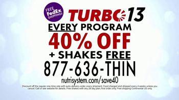 Nutrisystem Turbo 13 TV Spot, 'Your 13' - Thumbnail 10