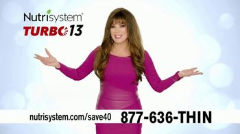 Nutrisystem Turbo 13 TV Spot, 'Your 13'