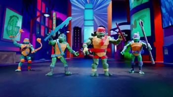 Rise of the Teenage Mutant Ninja Turtles Figures TV Spot, 'Sewer Squad Alert'