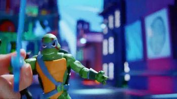 Rise of the Teenage Mutant Ninja Turtles Figures TV Spot, 'Sewer Squad Alert' - Thumbnail 3
