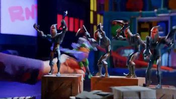 Rise of the Teenage Mutant Ninja Turtles Figures TV Spot, 'Sewer Squad Alert' - Thumbnail 4