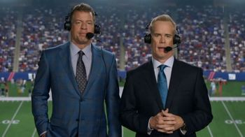 Tide TV Spot, 'Clean Call: A Thursday Night Tide Ad' Featuring Troy Aikman, Joe Buck