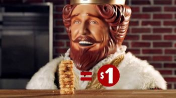 Burger King Chicken Nuggets TV Spot, 'Crazy Deal' - 20157 commercial airings