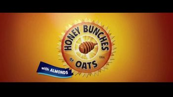 Honey Bunches of Oats With Almonds  TV Spot, 'Spoon, Bowl, Action' - Thumbnail 1