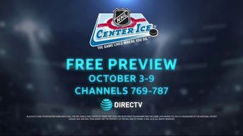 DIRECTV NHL Center Ice TV Spot, 'Ease Your Pain: Free Preview' - Thumbnail 8