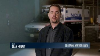CBS Cares TV Spot, 'Hispanic Heritage Month' Featuring Sean Murray