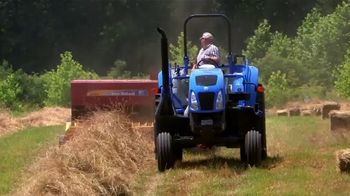 New Holland Agriculture TV Spot, 'Cut, Rake, Bale, Repeat'