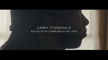 University of Phoenix TV Spot, 'A Promise to Mom' Featuring Larry Fitzgerald - Thumbnail 8