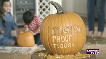 Cabinets To Go Kitchen-Proof Flooring TV Spot, 'The Great Pumpkin' - Thumbnail 10