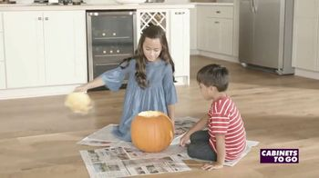 Cabinets To Go Kitchen-Proof Flooring TV Spot, 'The Great Pumpkin' - Thumbnail 5
