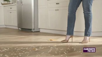 Cabinets To Go Kitchen-Proof Flooring TV Spot, 'The Great Pumpkin' - Thumbnail 8