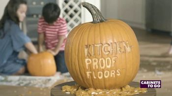 Cabinets To Go Kitchen-Proof Flooring TV Spot, 'The Great Pumpkin' - Thumbnail 9