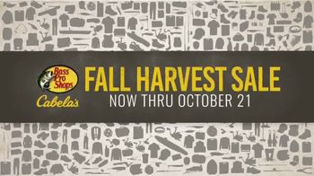 Bass Pro Shops Fall Harvest Sale TV Spot, 'Camo Gear'
