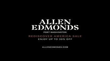 Allen Edmonds Rediscover America Sale TV Spot, 'Real Shoes' Featuring Baker Mayfield - Thumbnail 10