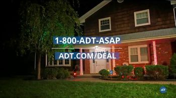 ADT Smart Security TV Spot, 'Home Safety During Halloween: $100 Off Installation' - Thumbnail 9