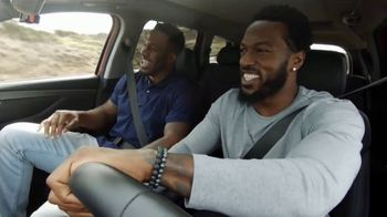 Hyundai Santa Fe TV Spot, 'Steven Jackson and Patrick Willis Tackle Their Rivalry: Cover 2' [T1] - 1 commercial airings