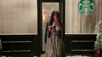 Starbucks Peppermint Mocha TV Spot, 'Holidays: Magic in the Night' Song by Kayla Stockert - Thumbnail 2