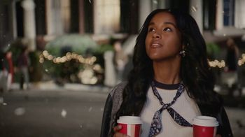 Starbucks Peppermint Mocha TV Spot, 'Holidays: Magic in the Night' Song by Kayla Stockert - Thumbnail 3