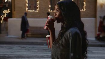 Starbucks Peppermint Mocha TV Spot, 'Holidays: Magic in the Night' Song by Kayla Stockert - Thumbnail 8