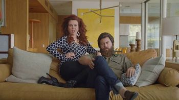 Sling TV Spot, 'Stretch: Stop Paying Too Much' Featuring Nick Offerman, Megan Mullally - Thumbnail 1